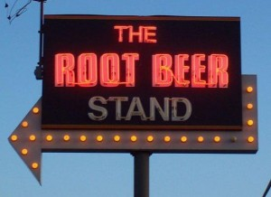 The Root Beer Stand in Sharonville, Ohio