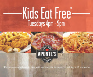 Aponte's Kids Eat Free_n