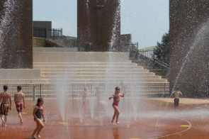 Cool Off at the Sawyer Point Sprayground!