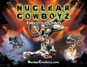 Nuclear Cowboyz ride into Cincinnati for the first time!  GIVEAWAY CLOSED AND WINNERS ANNOUNCED!