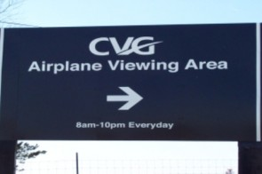 CVG Airport Viewing Area