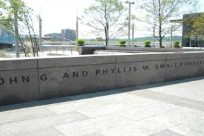 Summer fun at the new Smale Riverfront Park