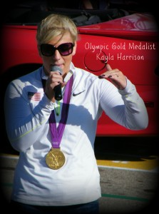 Celebration for Olympic Gold Medalist