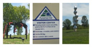 Cincinnati Parks :: Pyramid Hill Sculpture Park