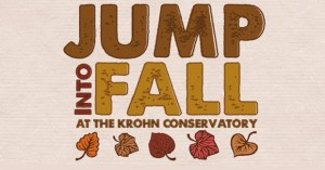 Jump Into Fall at The Krohn Conservatory