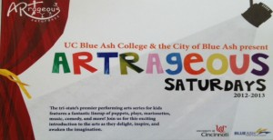 ARTrageous Saturdays 2012-2013