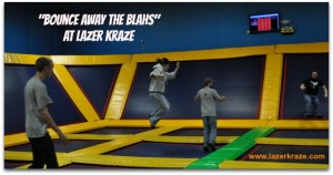 "Bounce Away the ""Blahs"" at Lazer Kraze! (Giveaway)  (Closed)"