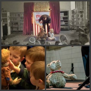 frisch marionette collage bear