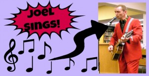 CD Giveaway from Joel the Singing Librarian {CLOSED}