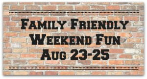 Family Friendly Things to do in Northern KY/Cincinnati Aug 23-25