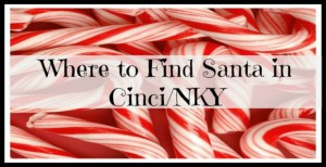 Where to Find Santa Claus in Cincinnati / Northern KY