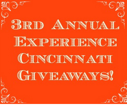 Experience Cincinnati Giveaway