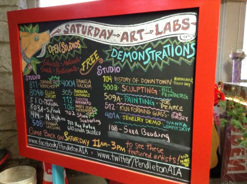 Saturday Art Labs PAC