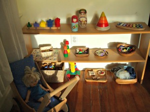 Montessori at Home Shelf