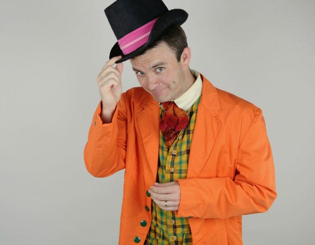 Bob Herzog is Willy Wonka