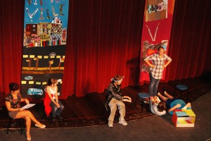 Camp Carnegie Students Perform on Stage of the Otto M Budig Theatre