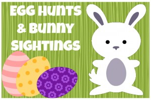 Easter Egg Hunts & Bunny Sightings in Greater Cincinnati {2016}