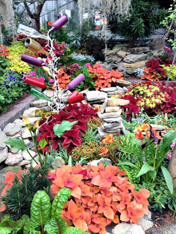 "Don't miss the final week of the ""Avant Garden"" Spring Floral Show at Krohn Conservatory."