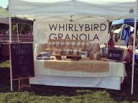 whirlybird granola booth