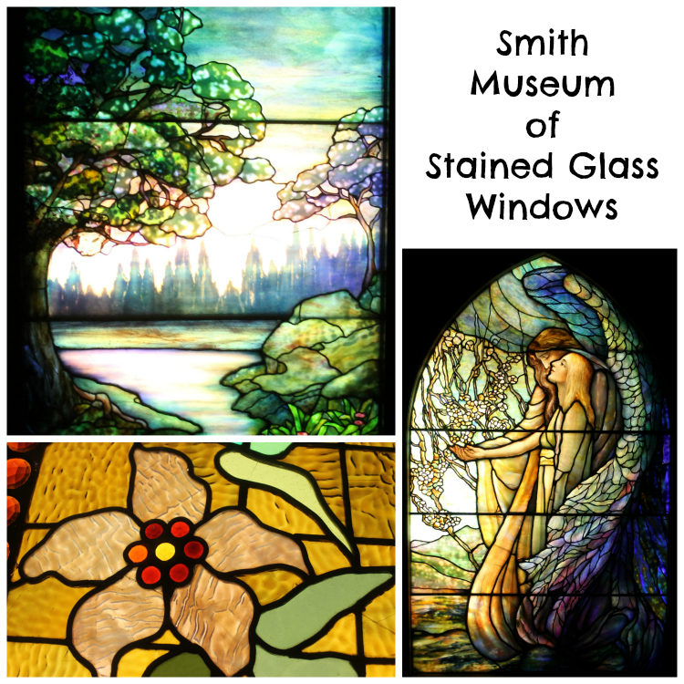 Smith Museum of Stained Glass Windows Collage