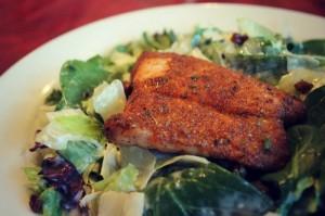 Rusty Bucket Salmon Salad