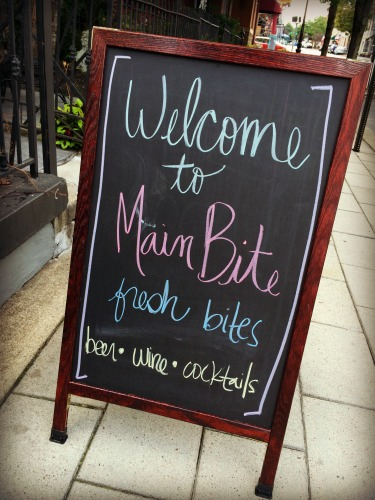 Main Bite Sign