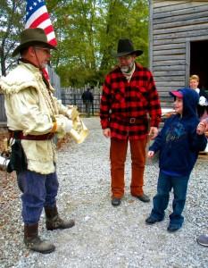 Old West Festival being deputized