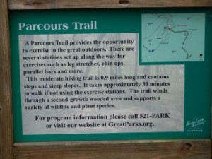 Parcours Trail at Woodland Mound