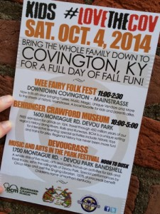 Kids Love The COV ~ FREE Family Fun on 10.4.14