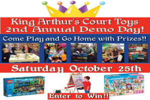 King Arthur's Court Toys – Demo Day October 25