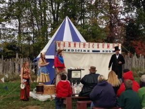 old west fest medicine show