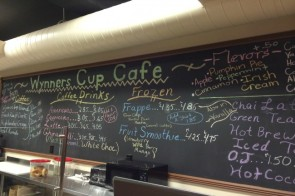 Wynners Cup Cafe in Ludlow