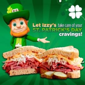 Izzy St. Patricks Day