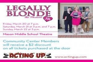 Acting Up presents Legally Blonde Jr.