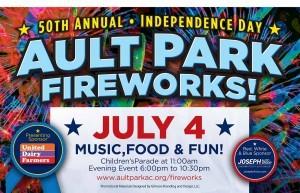 Ault park fireworks