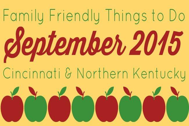 Family Friendly Things to Do in Cincinnati & NKY {September 2015}