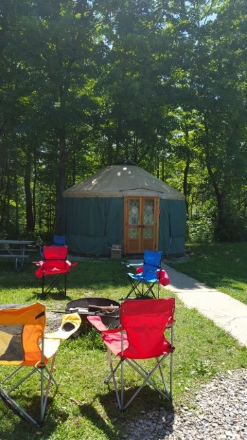 Hueston Woods Yurt