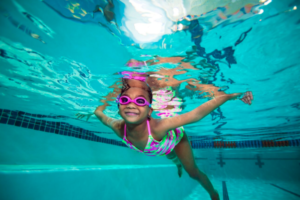 Everybody in the pool! Why winter is the best time to get your kids swimming at Goldfish Swim School in West Chester