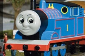 Thomas the Train is chugging his way back to EnterTRAINment Junction