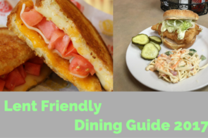 Lent Friendly Dining Guide 2017