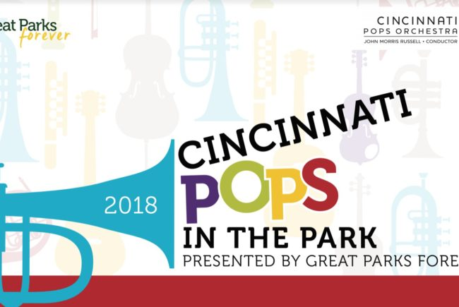 The Excitement of the Cincinnati Pops Returns to the Great Outdoors!