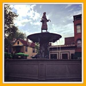 Goose Girl Fountain