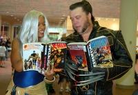 Superheroes reading