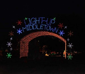 Photo credit goes to Light up Middletown.