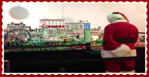 Newport Express Holiday Depot Santa