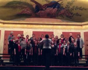 Christmas Saengerfest chorus