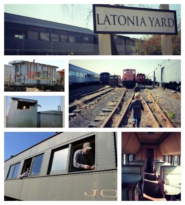 Latonia Yard Collage