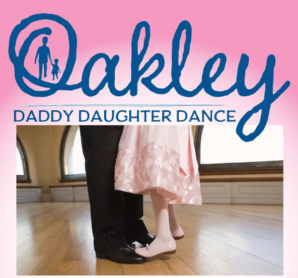 Find out details about this Sunday's Oakley Daddy Daughter Dance and get your chance to win two tickets, so your favorite father-daughter duo can join in.