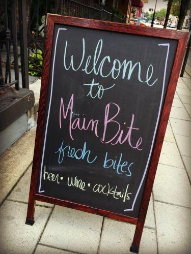 Main Bite Sign