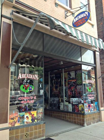Arcadian Comics & Games